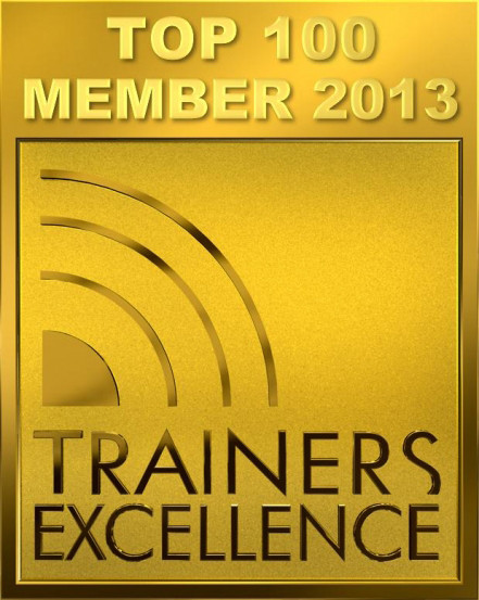 TRAINERS EXCELLENCE - Top 100 Member 2013/14